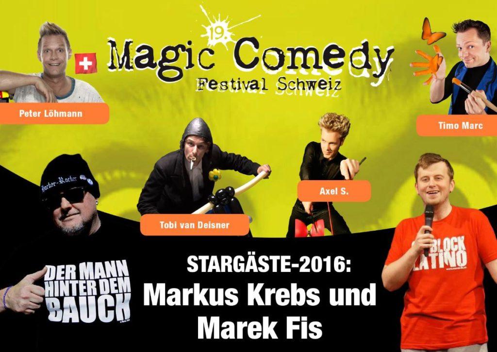 Magic Comedy Tour by Peter Löhmann