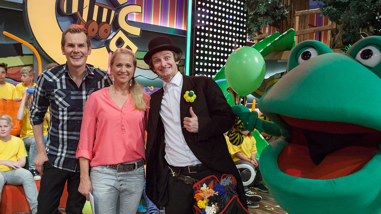 Tobi van Deisner mit Malte Arkona und Singa Gätgens